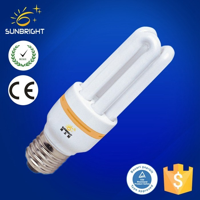 CE RoHS 3u Energy Saving Light Bulb