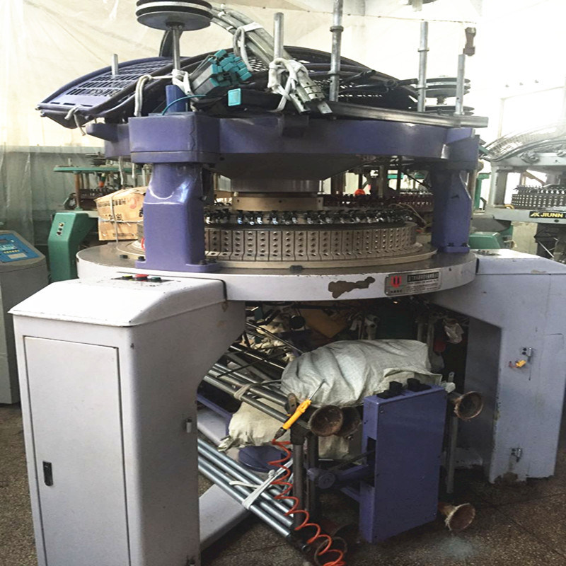 Second-Hand Double Jersey Knitting Machine on Sale
