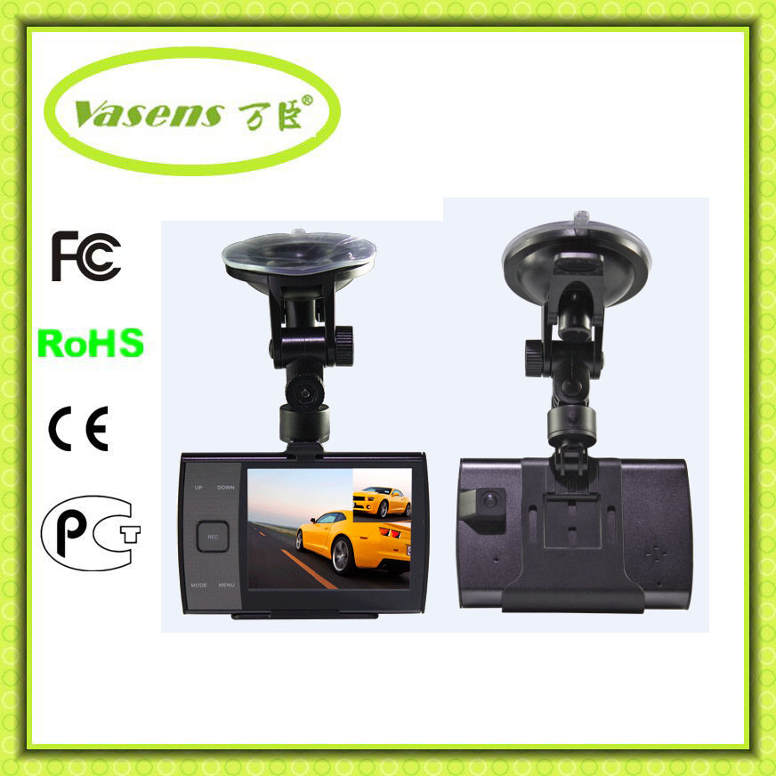 2 Camera Full HD 1080P Car Camcorder