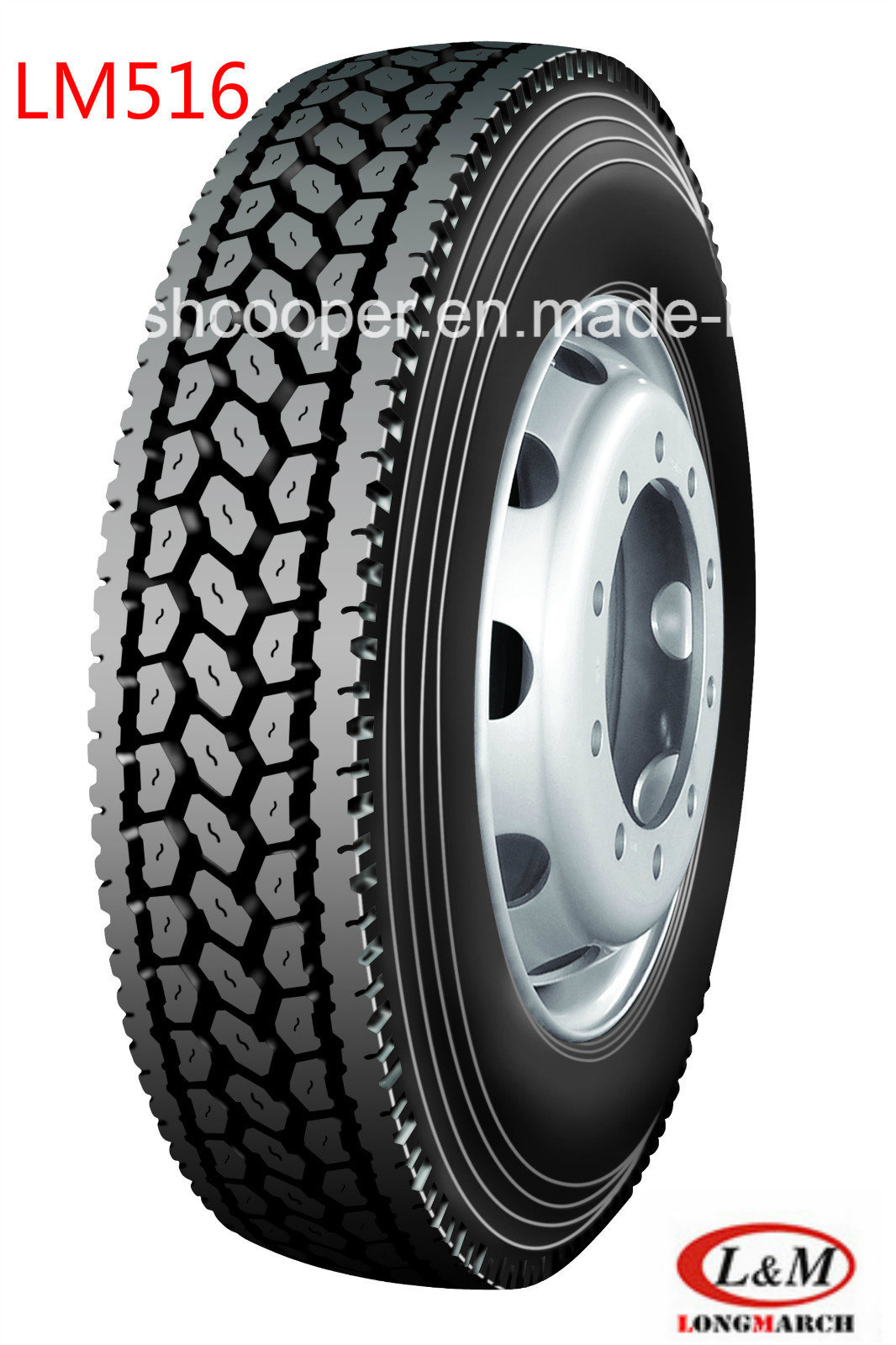 Long March Radial Truck Tire with All Kinds of Certificates (285/75R24.5LM516)