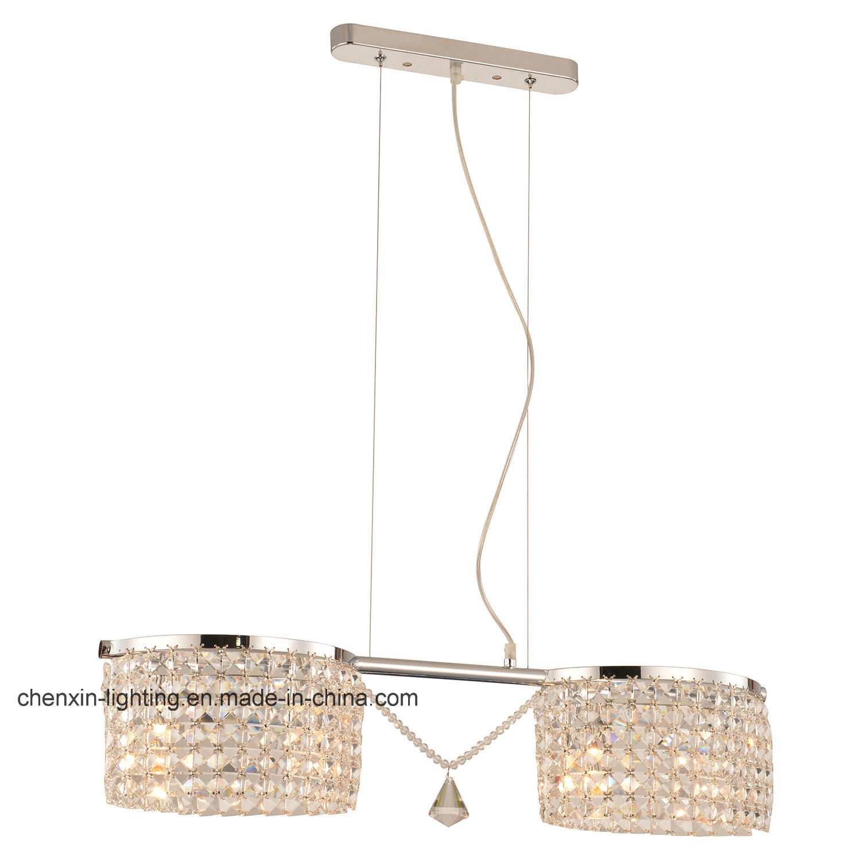 Balance Two Lights Crystal Hanging/Pendant Lamp