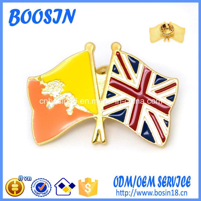 2017 Latest Popular Fashion Flag Metal Pin