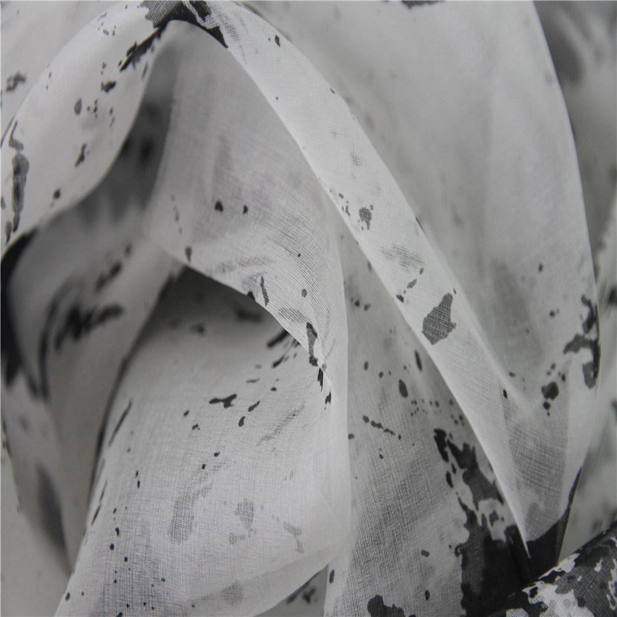 100% Silk 5.5 mm Organza Digital Printing