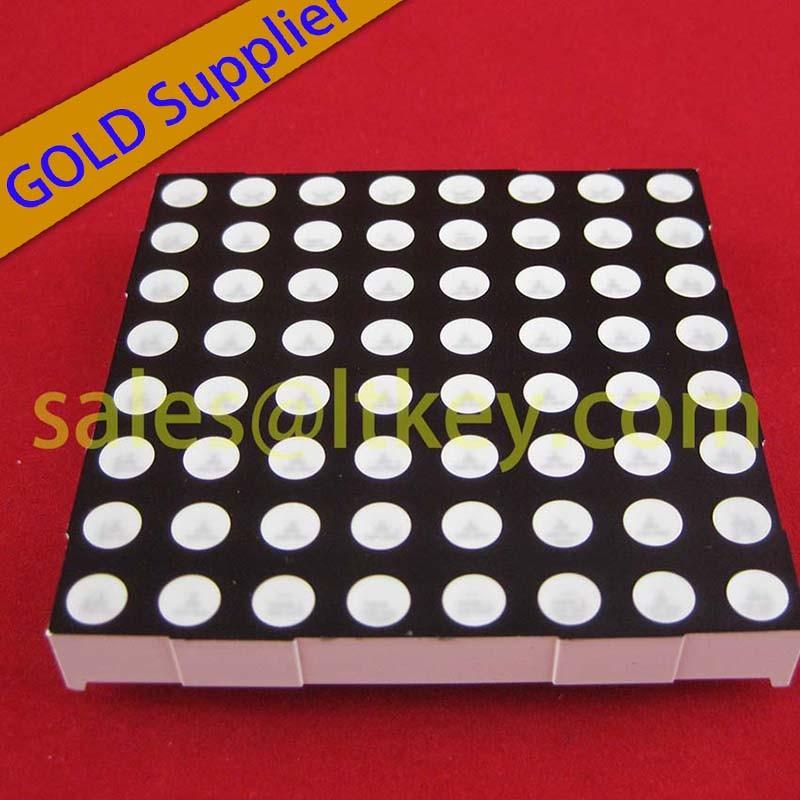 8X8 LED DOT Matrix with RoHS Compliance
