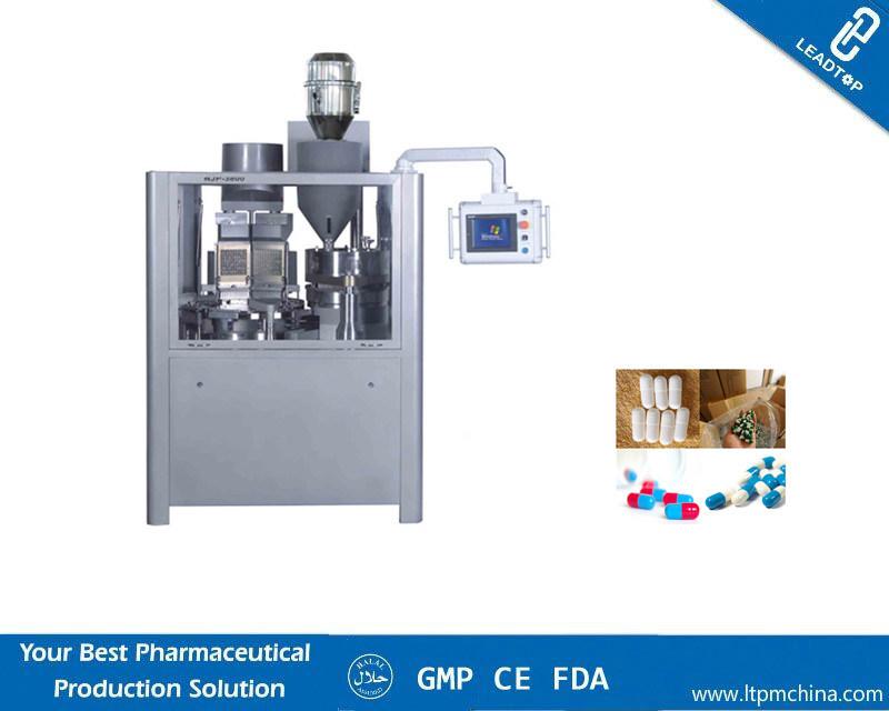 Njp-1200c Fully Automatic Hard Gelatin Vegetarian Empty Capsules Filling Machine