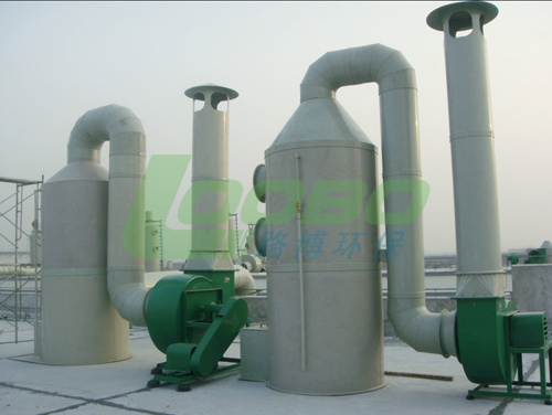 Water Spray+ Active Carbon Adsorption Type Exhaust Waste Gas Purification Tower (LB-FT)