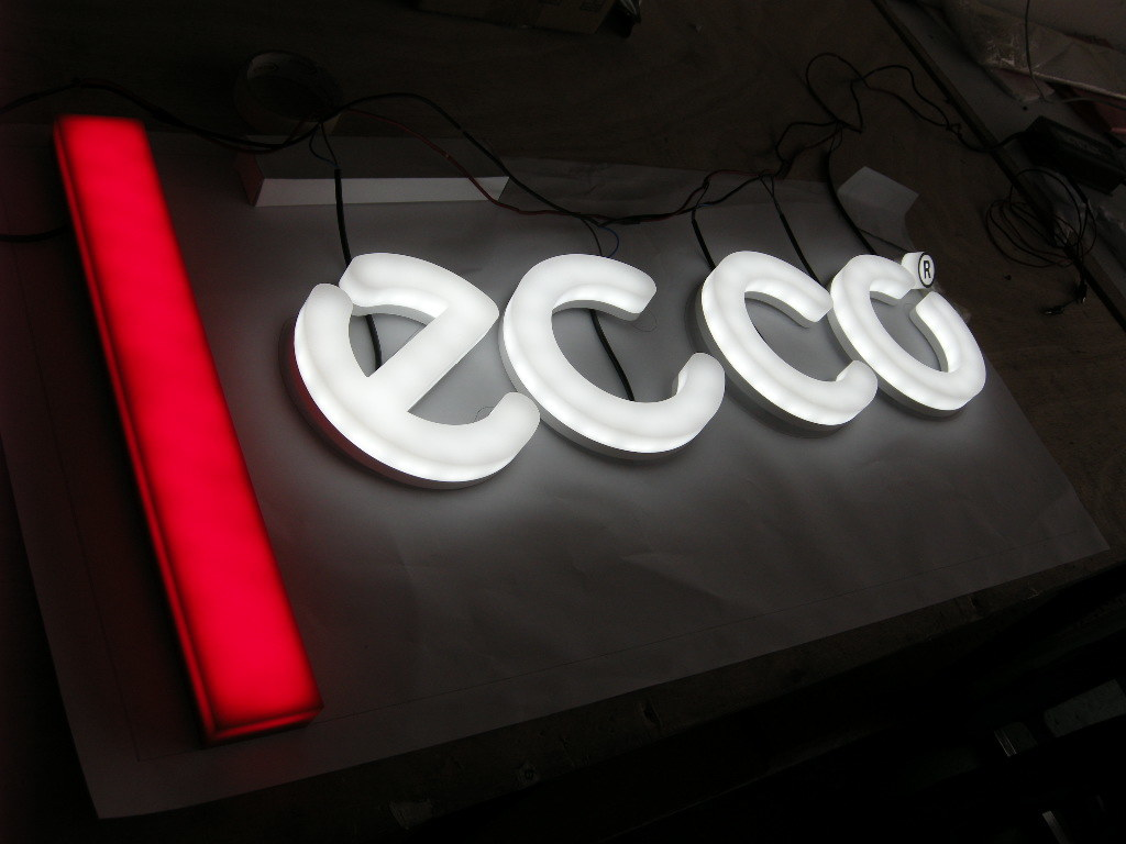 Full Lit Acrylic LED Channel Letter for Billboard Sign