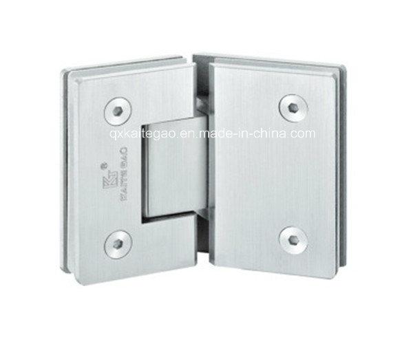 (KTG-1004) Ss Casting Solid Glass Door Hinge