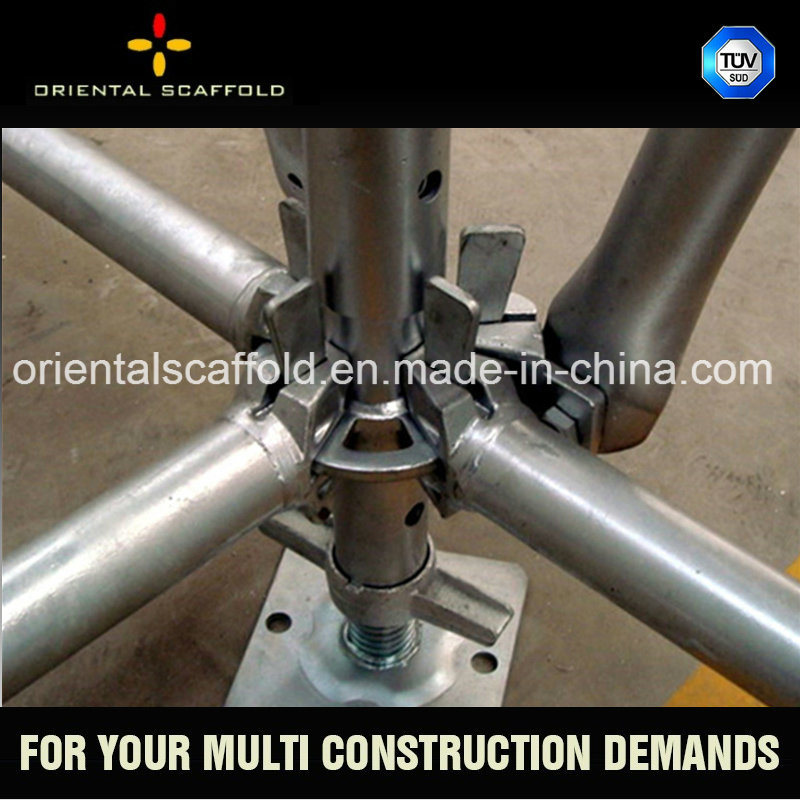 Ringlock System Scaffold for Building