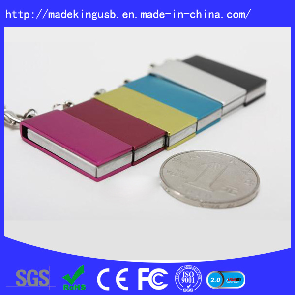 The Classic Swivel Mini USB Flash Drive