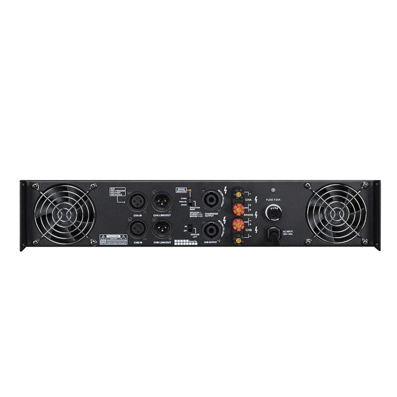 KTV Power Amplifier 2 Channels Fp Series
