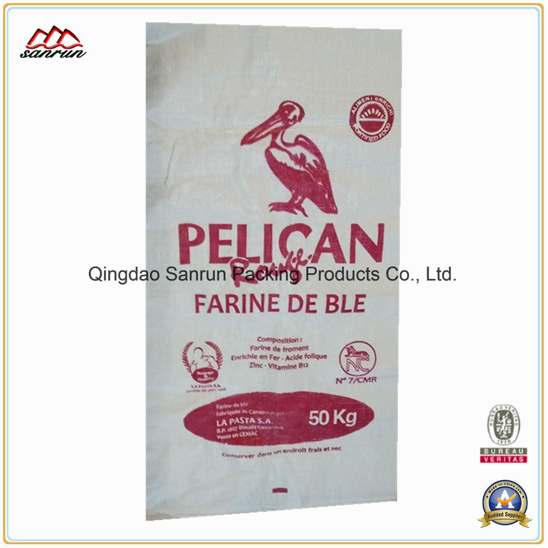 50kg PP Woven Bag for Grain, Maize, Sesame, Beans