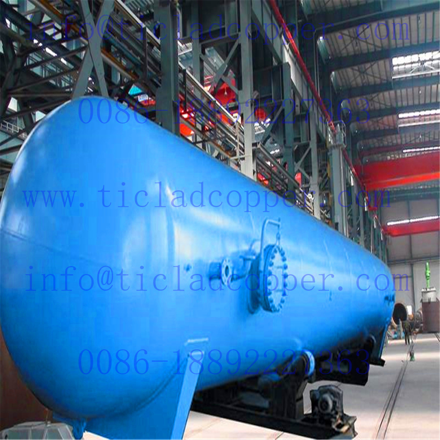 Reliable Steel High Pressure Vessel