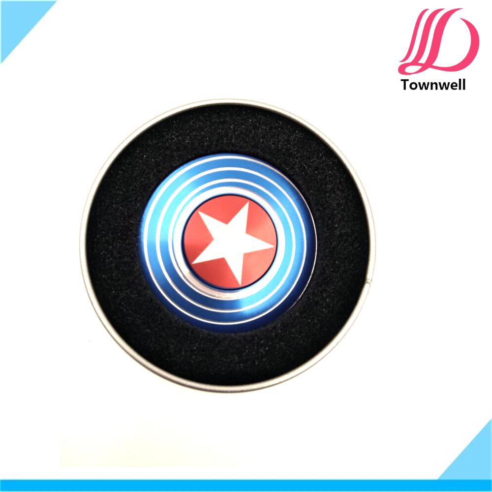 Captain America Hand Spinner Toys for Kids