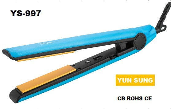 2017 Latest New Colorful Flat Ionic Hair Straightener (YS-997)