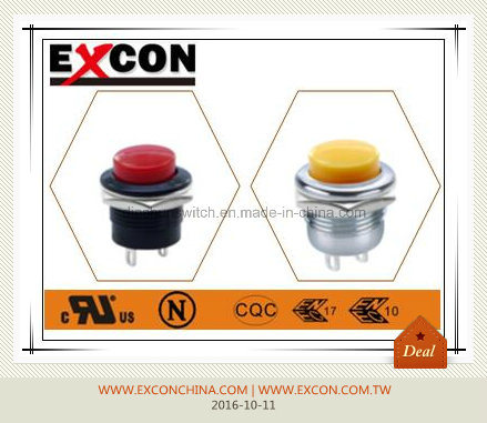 Excon Water-Proof and Oil-Proof Push Switch Pb-02 with IP67
