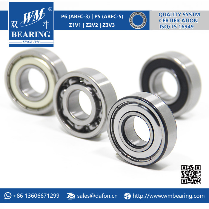 Washing Machine Spare Parts 6205-Zz Deeep Groove Ball Bearing