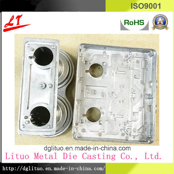 OEM Aluminum Die Casting for Telecom Conponets with ADC12 or A380 Material