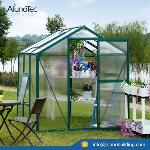 Aluminium Hobby Garden Greenhouse Kit
