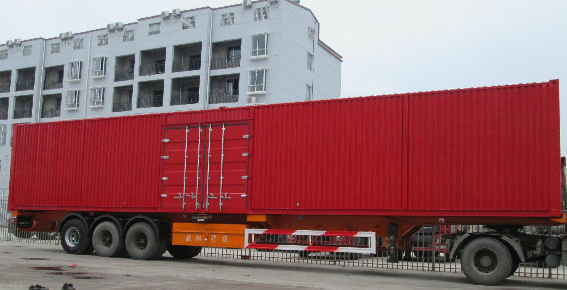 53 Feet Container Semitrailer
