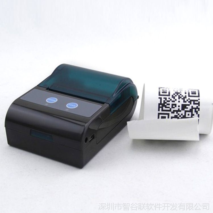 Pocket Size 58mm Bluetooth Mobile Thermal Printer for Retail Market Zkc5804