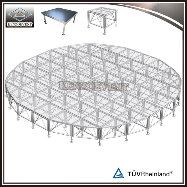 Wholesale Movable Acrylic/Plexiglass Platform Concert Stage
