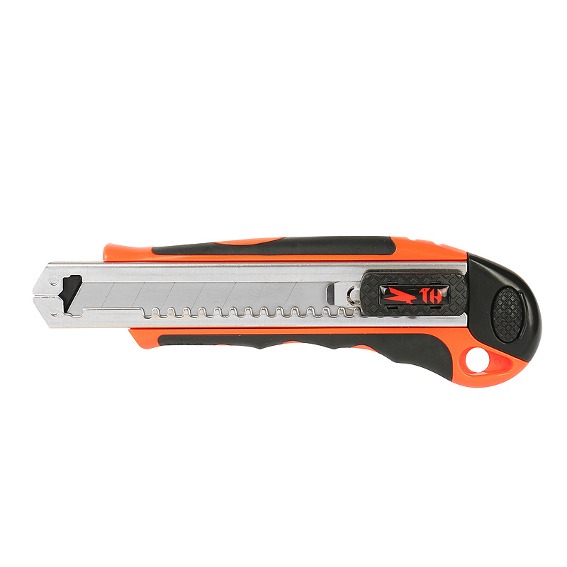 18mm Auto Re-Load Heavy Duty Knife, Plastic Hardware Hand Tool
