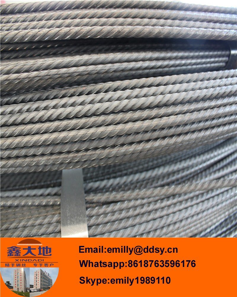 High Tensile Strength Low Relaxation Concrete Steel Wire