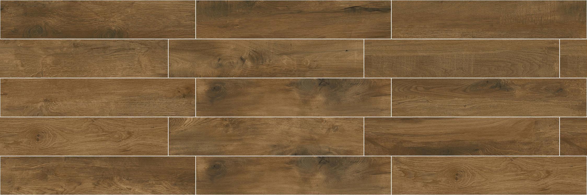 High Quality Building Material Porcelain Wood Tile Floor Tile Lnc209008 Brown
