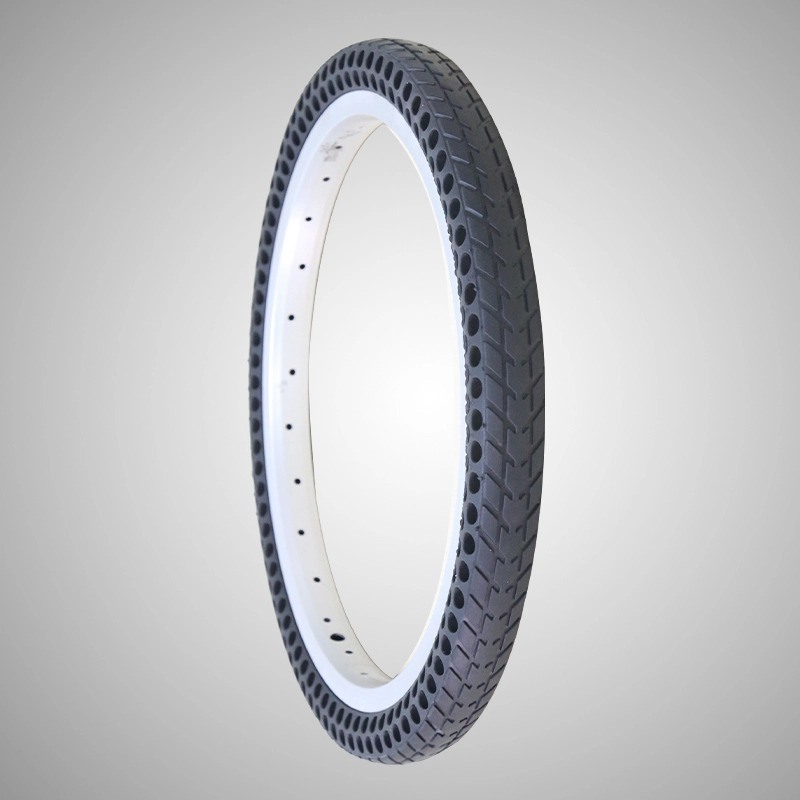 26*1.5 Mountain Bike Solid Tire 26*1.75 Gasless Bike Sharing No Maintenance Bicycle Tire Factory on Sale Free Shipping