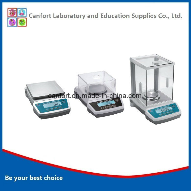 Precision Digital Balance, Analytical Balance, Electronic Balance with Built-in Battery for Lab Equipment