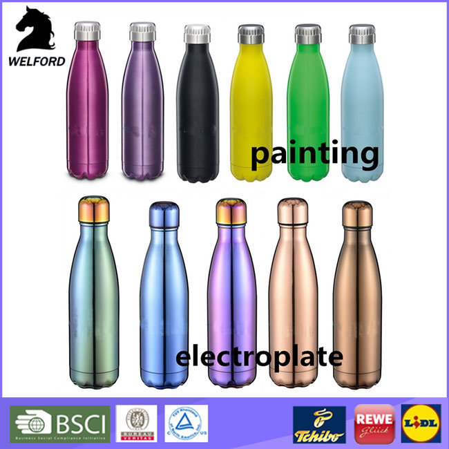 Double Wall Stainless Steel Cola Bottle