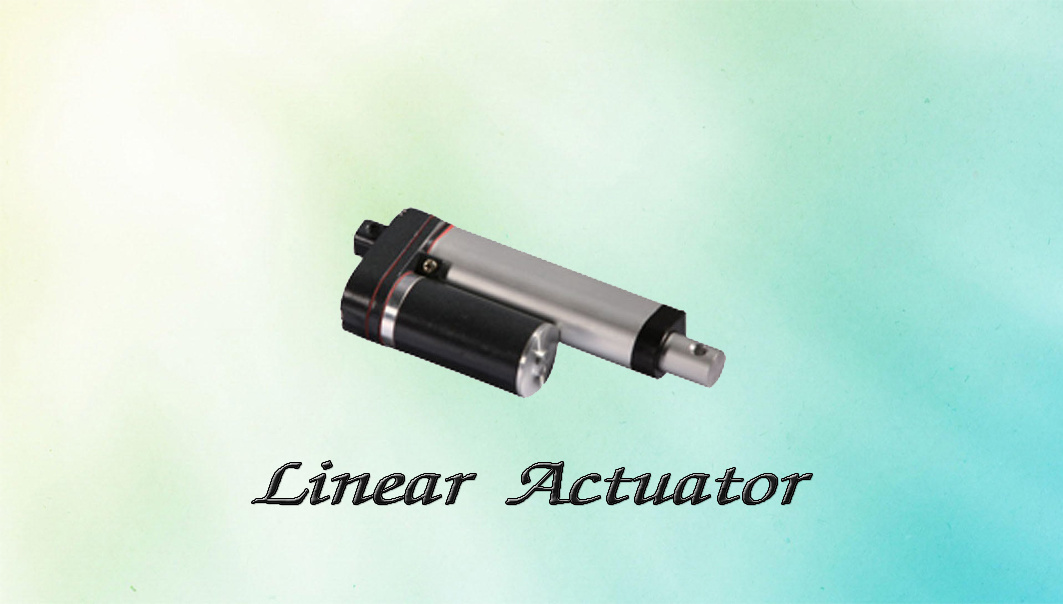 24V DC IP54 Limit Switch Built-in Linear Actuator for Coffee Machine