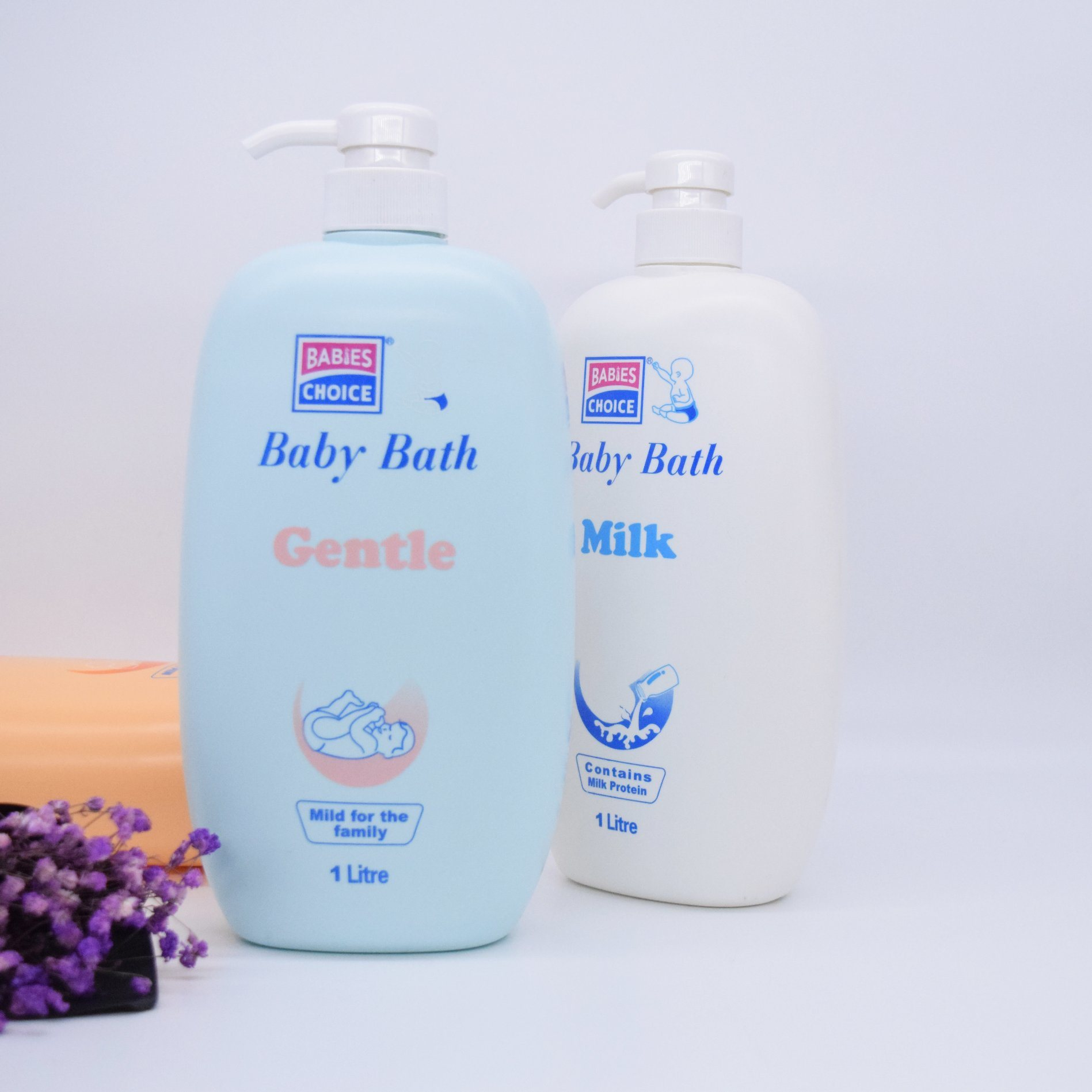 Baby Body Wash with Gentle Make Skin Soft