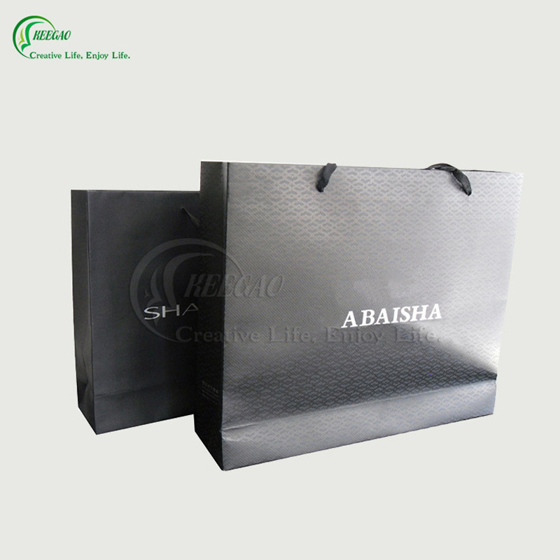 Colorful Promotional Gift Shopping Bag Manufacturer (KG-PB078)