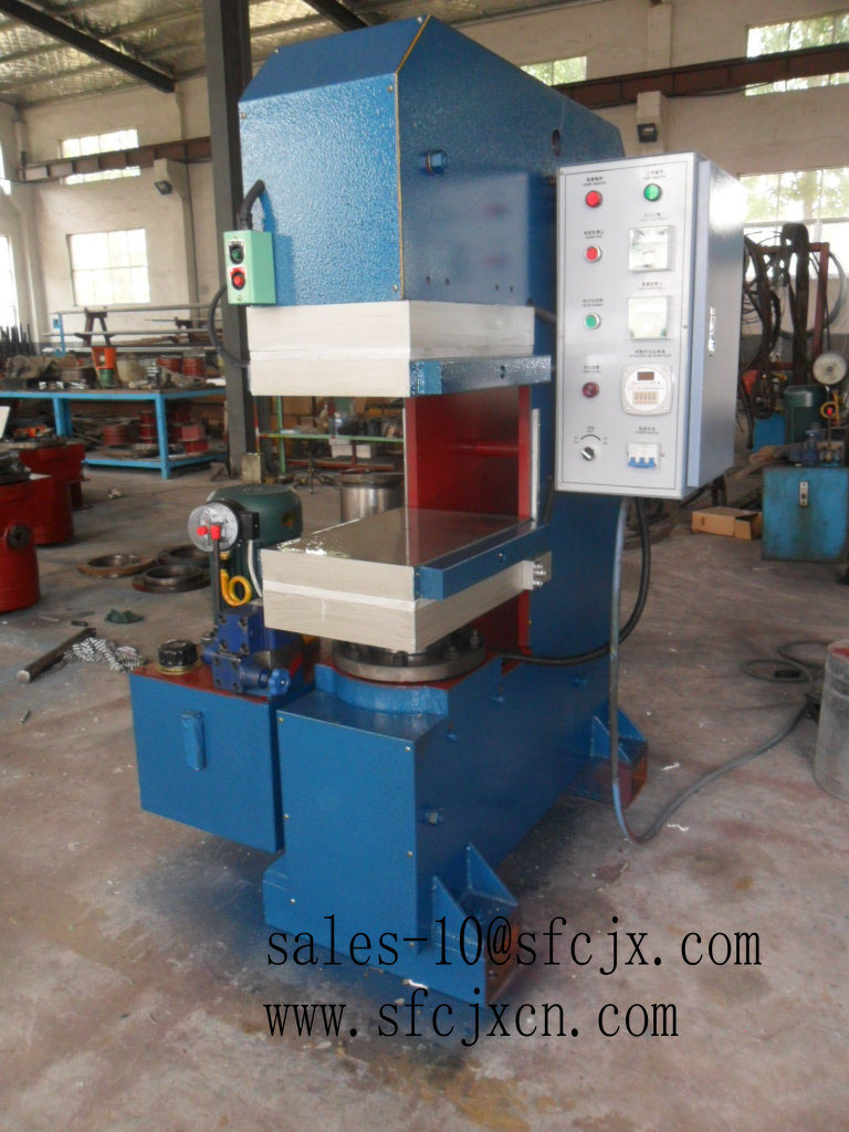 Level Plate Rubber Vulcanizing Press Machine