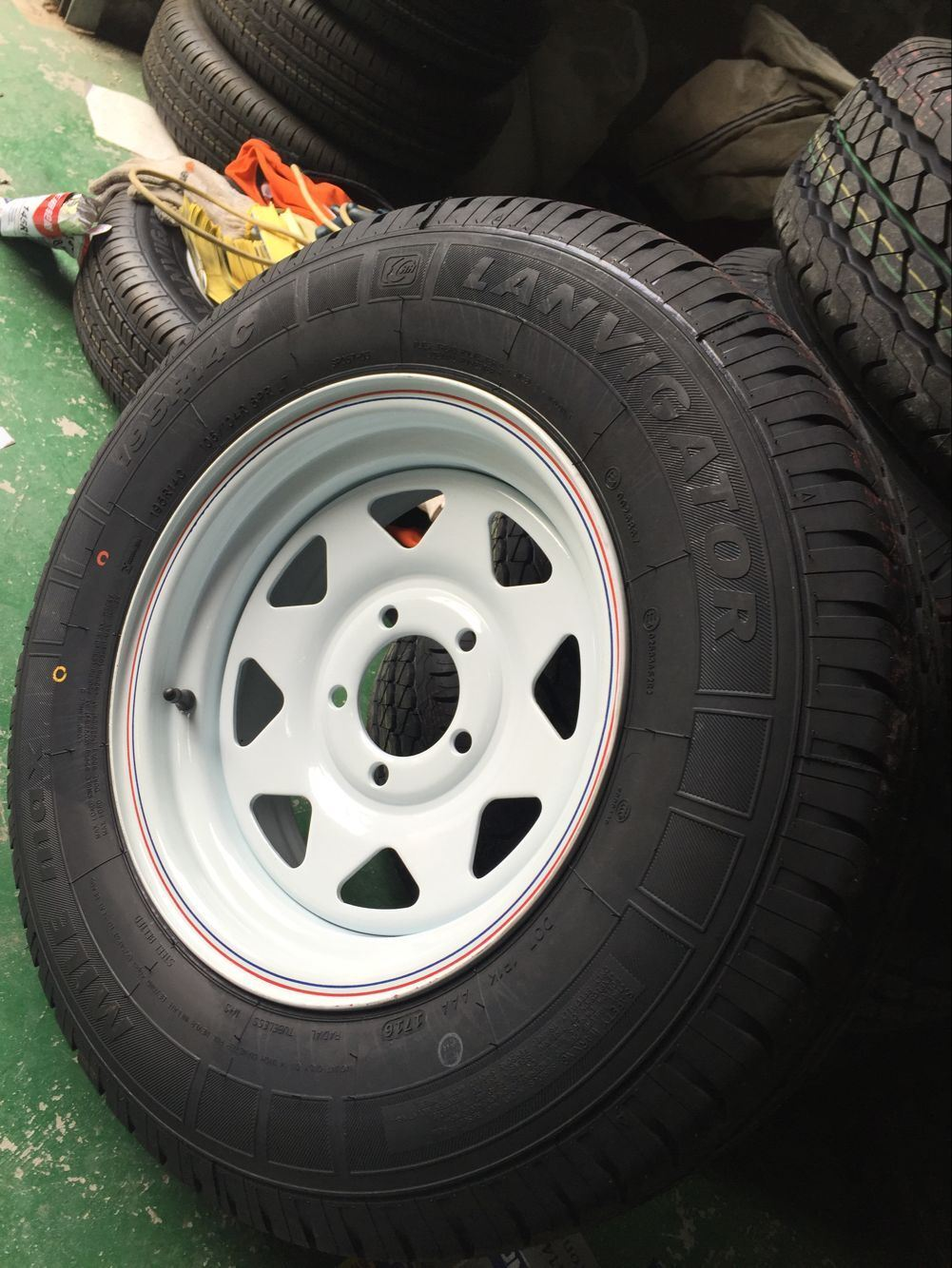 Radial St235/80r16lt St185/80r13 Trailer Tire with Factory Price