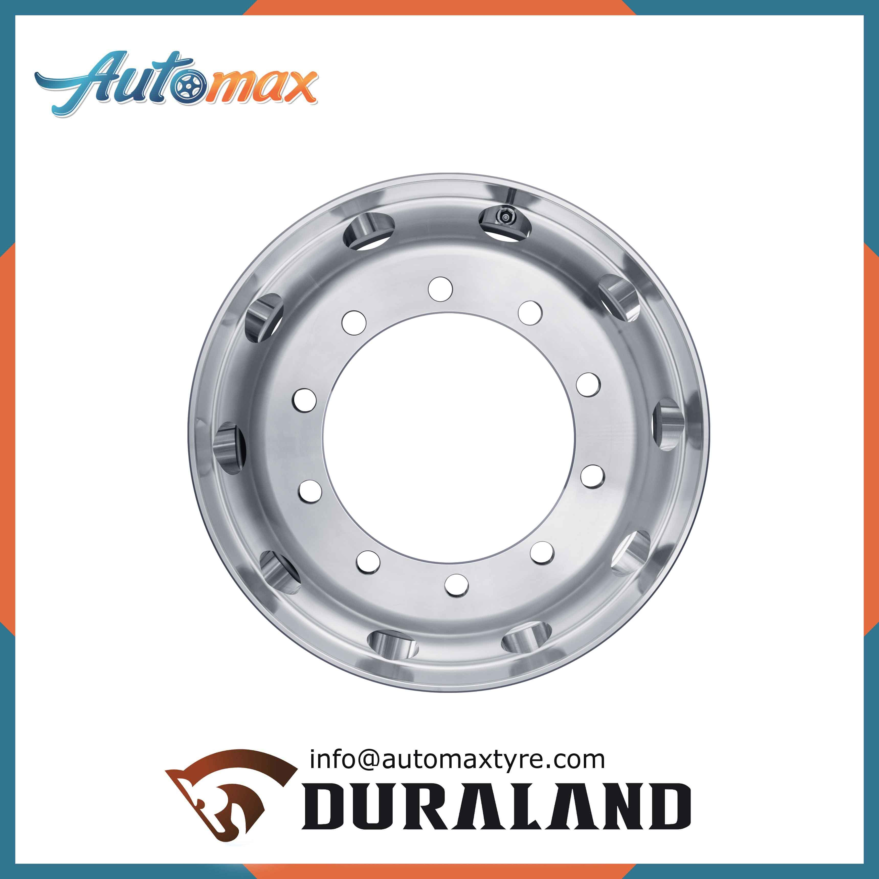 Double Polished Aluminum Wheels