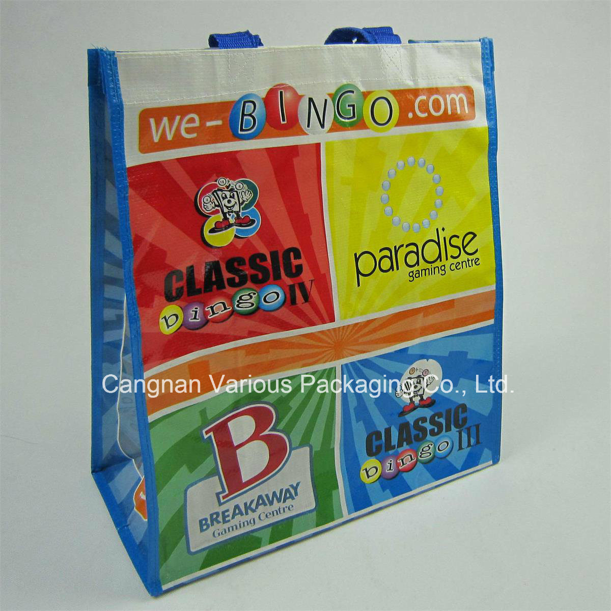 PP Woven Bag Packaging Bag (MX-BG1067)