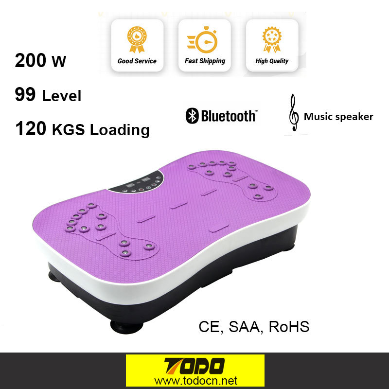 Todo Body Shaper Vibration Plate Crazy Fit Massage