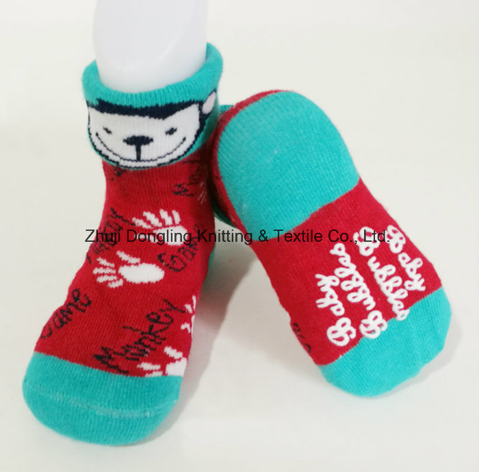 100% Cotton and Slipper Baby Socks