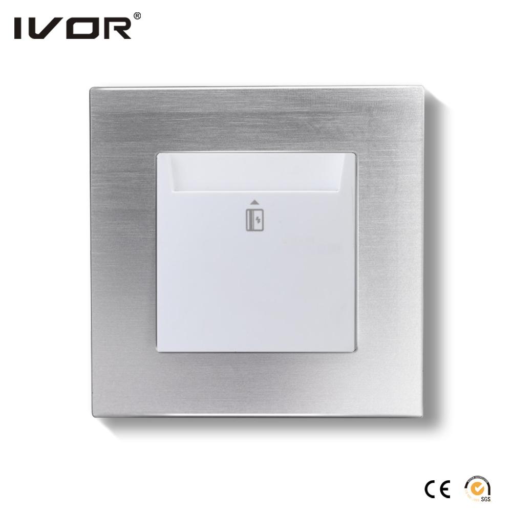 Energy Saver Key Card Power Switch Hr-Es1000-Gl Glass Frame