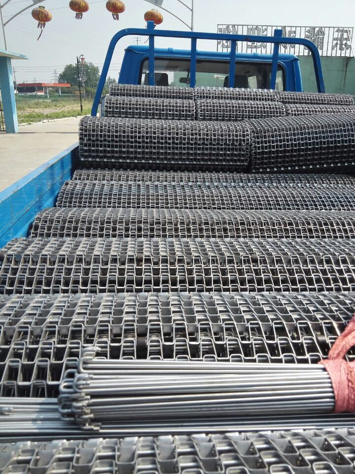 Flat Wire Belt for Packing, Battery Boating Lake Conveyor Equipment