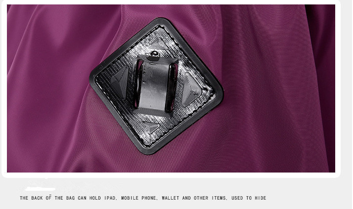 Promotion Water-Proof Nylon Drawstring Backpack Bag