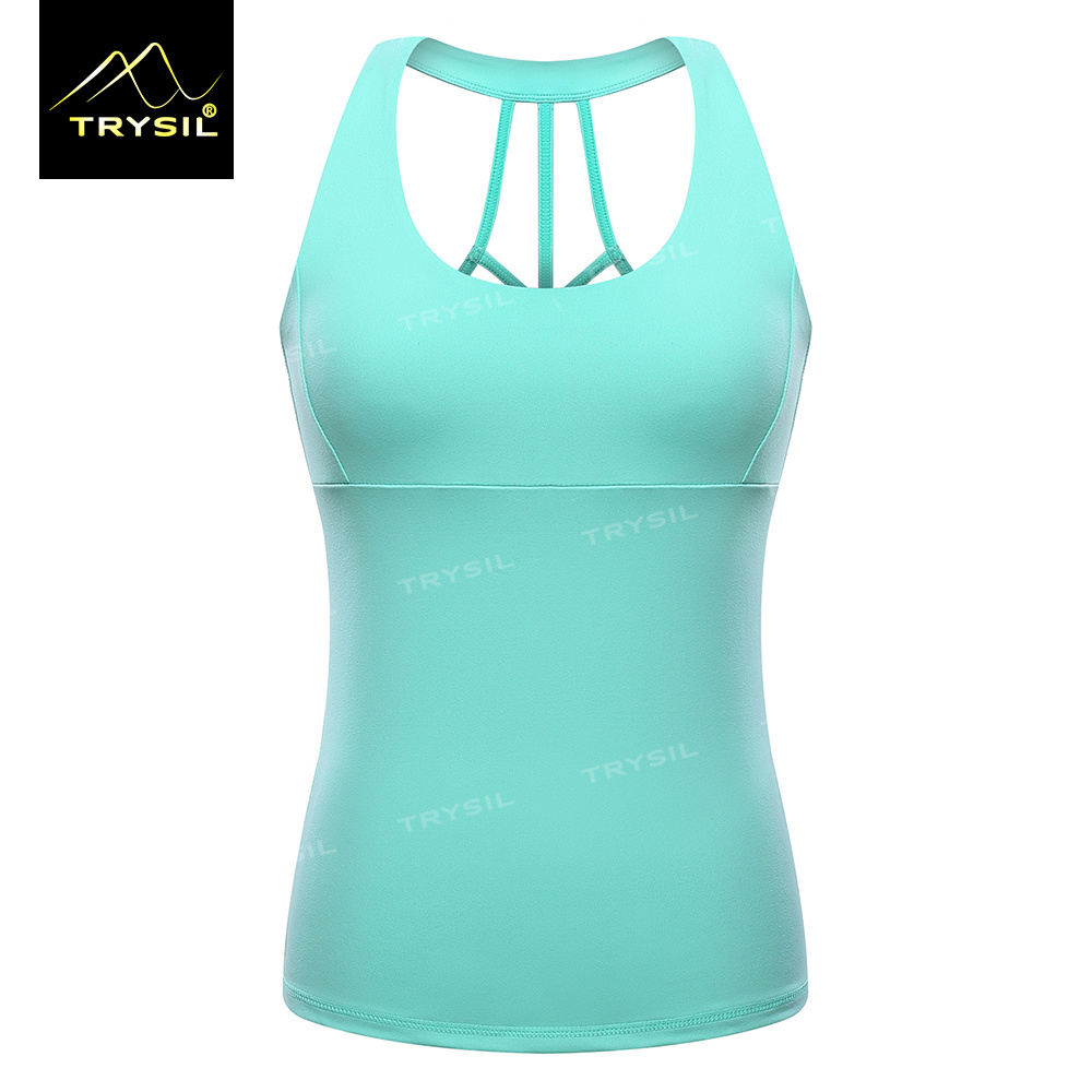Women Yoga Stringer Gym Vests Fitness Tank Tops for Ladies
