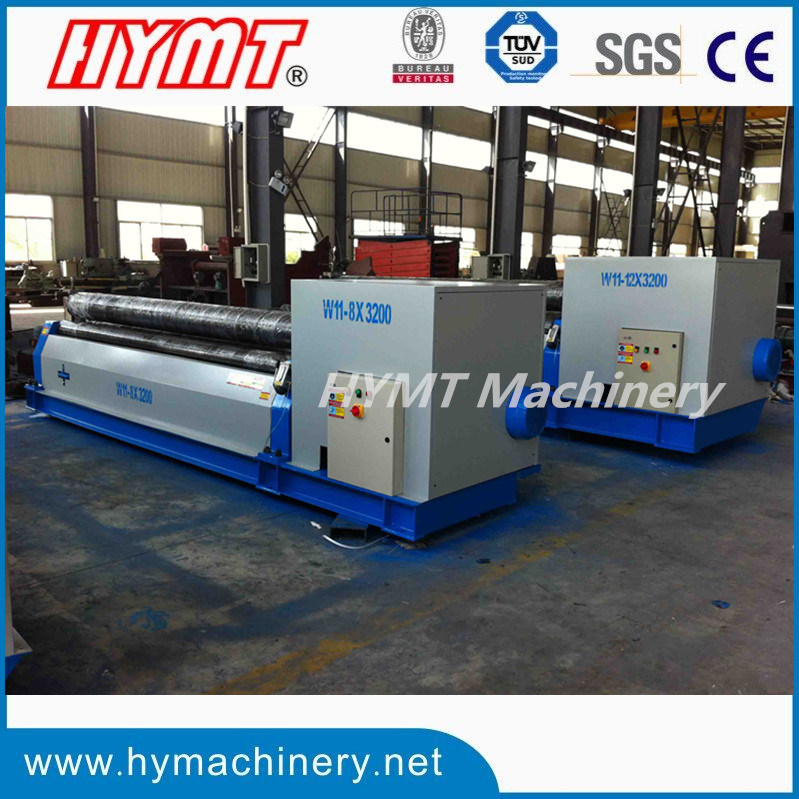 W11-20X3200 Mechanical Symmetrical 3 Roller Plate Bending Machine