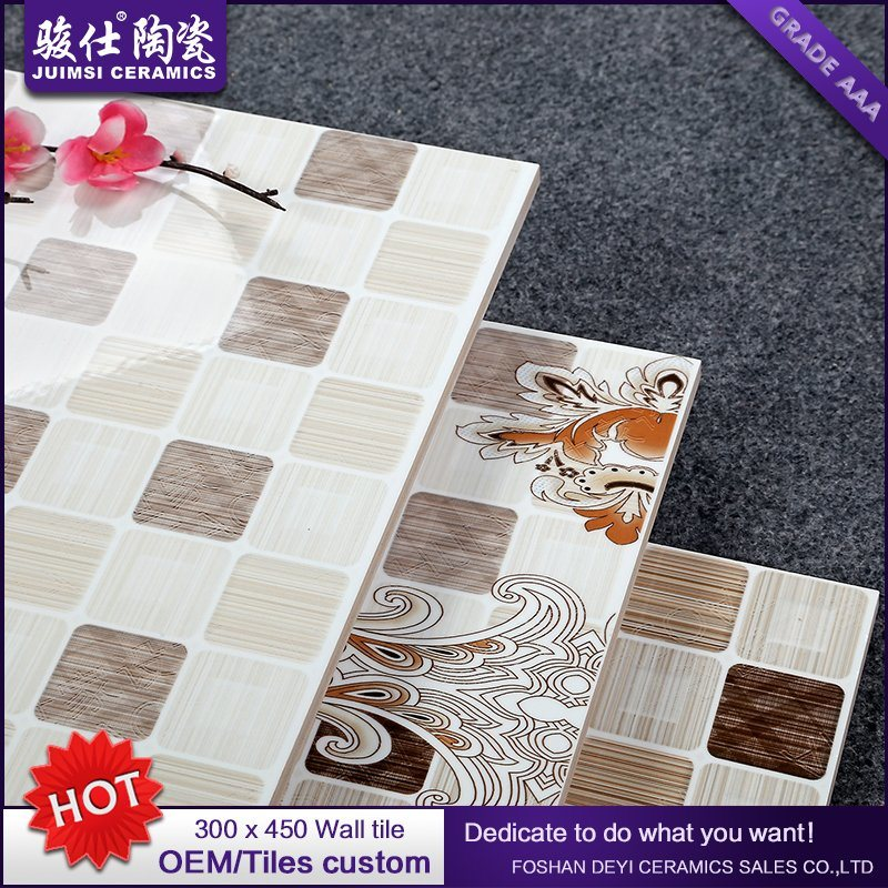 Alibaba China Market Cheap Price Inkjet Ceramic Brick Shape Wall Tile
