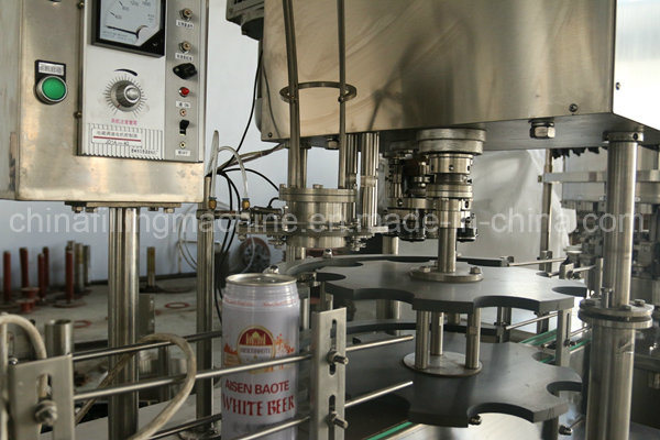 Auto PLC Control Can Filling Machine for Juice or Water