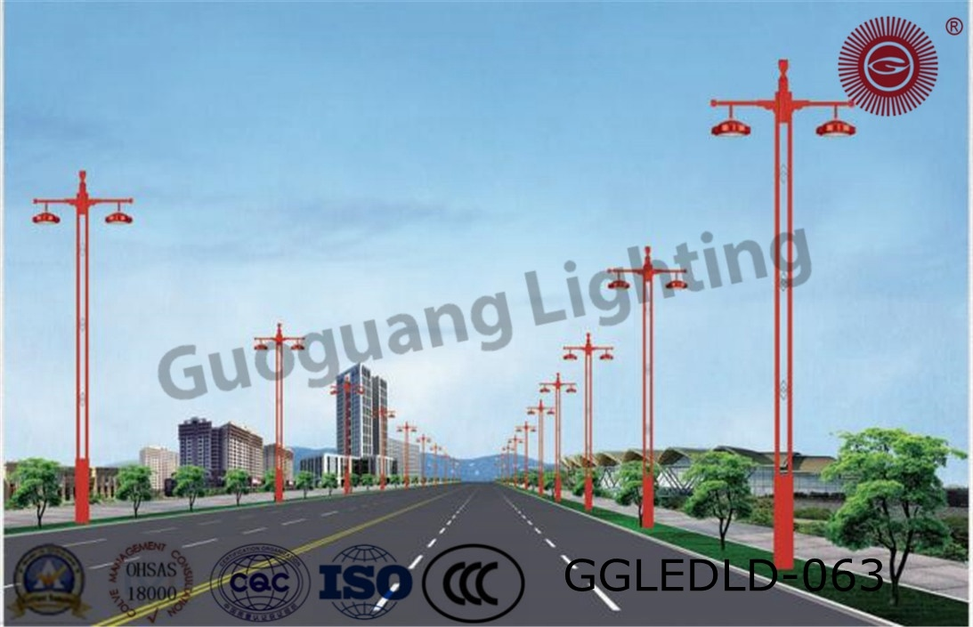 Ggledld-063 Patent Design IP65 High Quality 6m-12m LED Street Lights