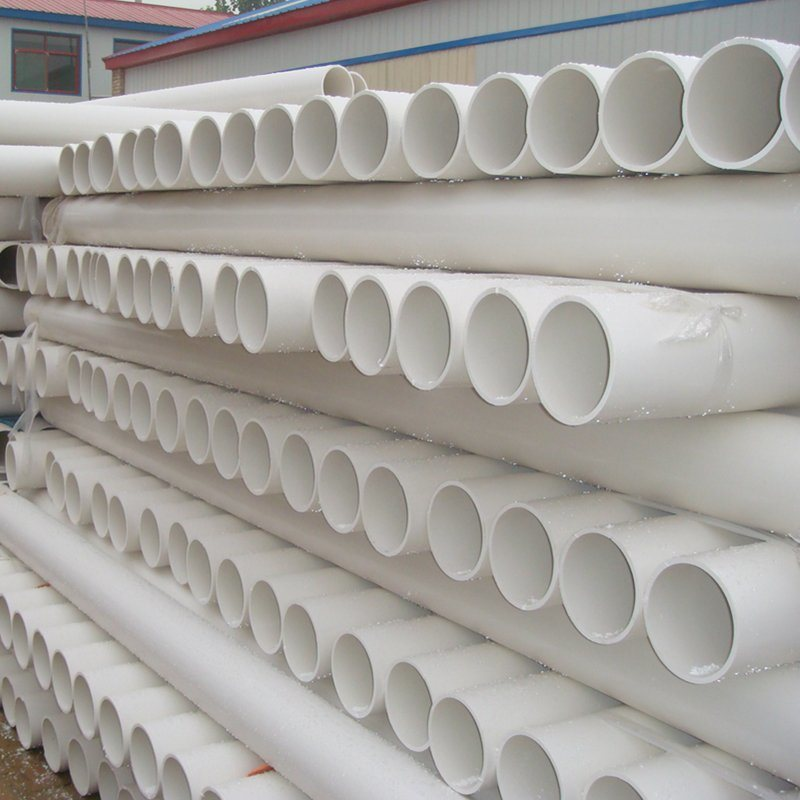 PVC-U Pipes for Construction Drainage